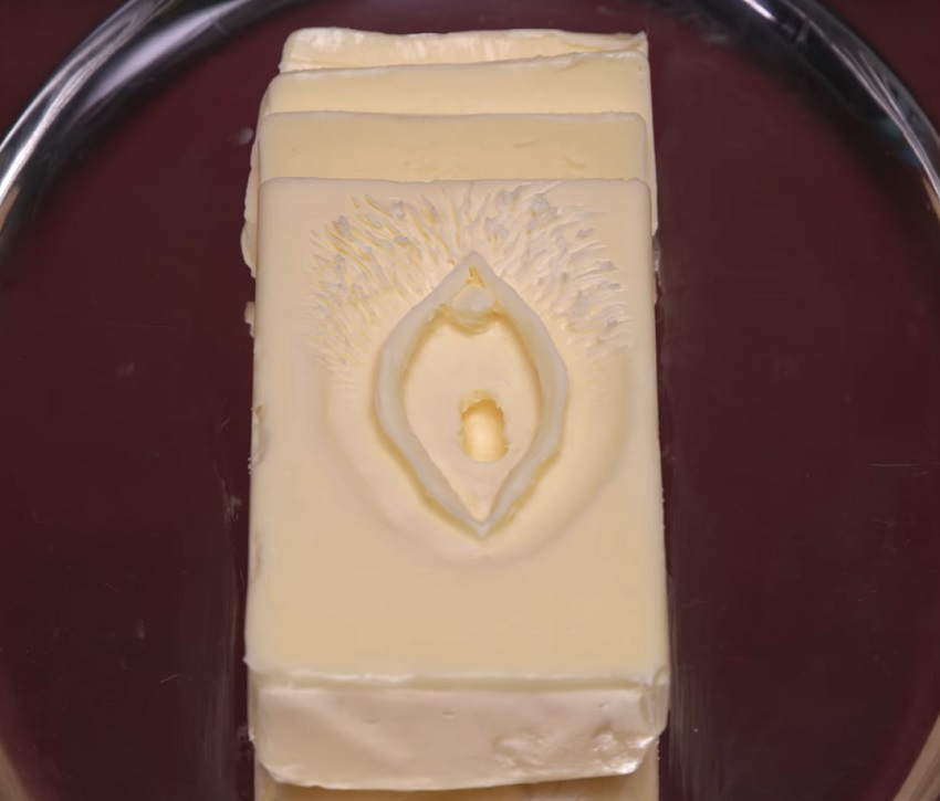 vagina-curved-in-butter