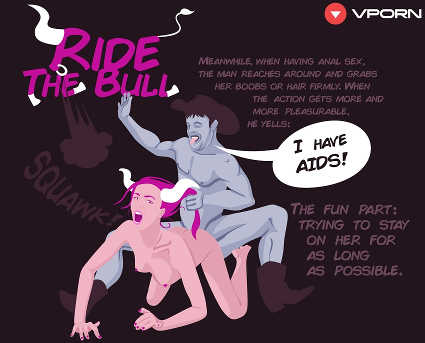 ride the bull sex position
