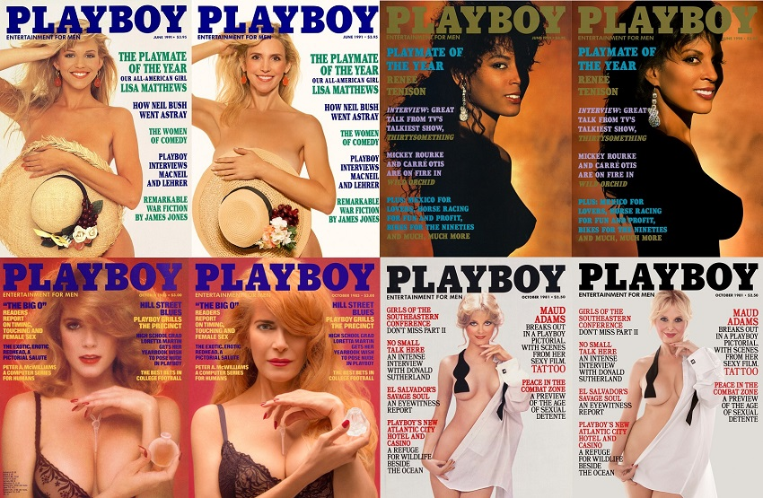 iconic playmates recreate playboy covers