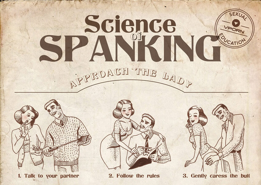 how to spank ass