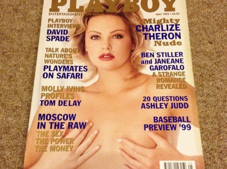 retro playboy magazine