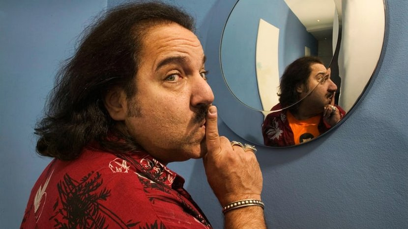 ron jeremy hushing the viewer