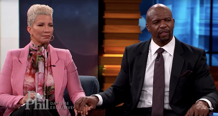 terry crews cheating on his wife