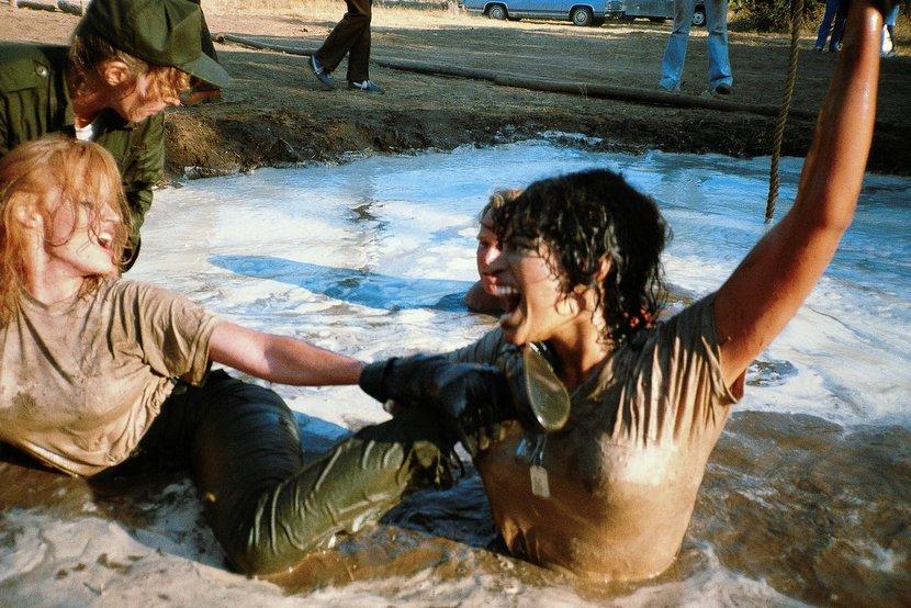 vanessal del rio mud wrestling in foxholes porn movie