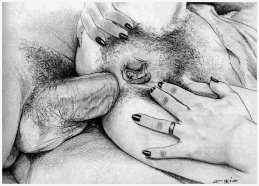 up the butt of a married woman anal sex art by angio