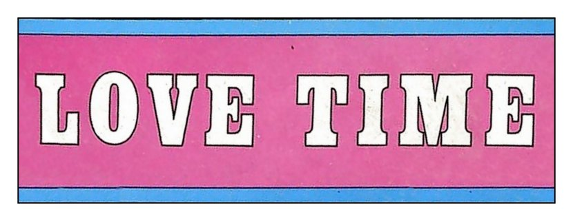 Love Time banner
