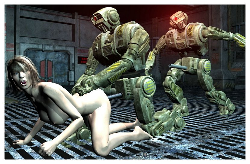 combat sexbots with improvised steel pipe raping dicks