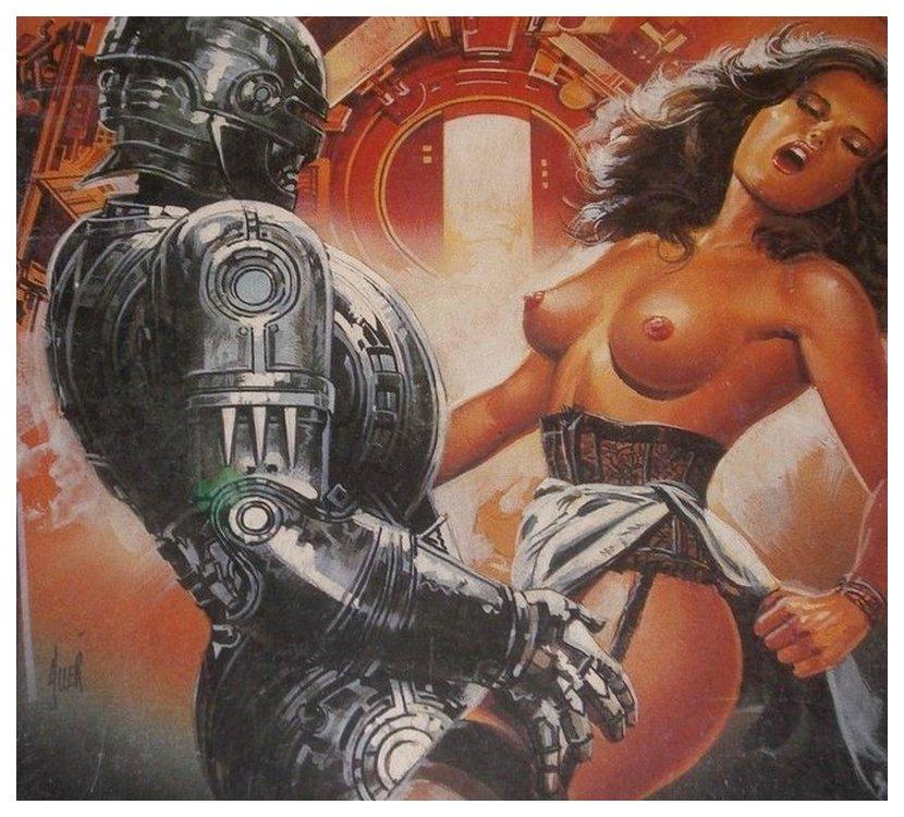 burly security sex robot fucks pretty woman