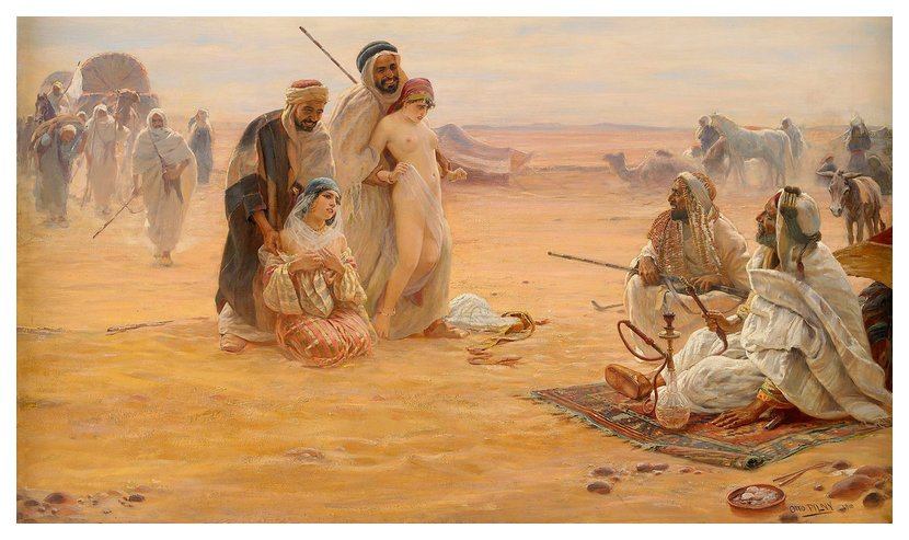 The Slave Market by Otto Pliny