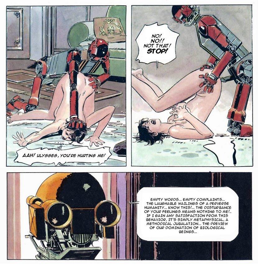 evil sex robot justifies his behavior