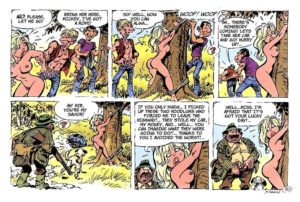 comic book rape as the punchline to a damsel in distress scenario
