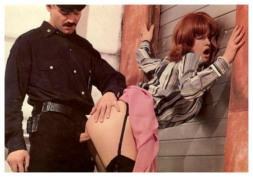 fucked up against the wall by a corrupt policeman